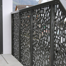 Anodized Aluminum Sheet Metal Fence Panel