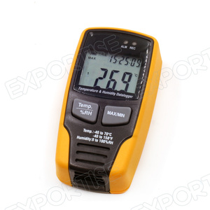 Digital Temperature and Humidity Data Logger Meter
