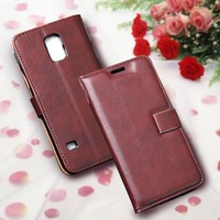 Mobile Phone Case For Sony Xperia M C1904 C1905 Wallet Leather Case