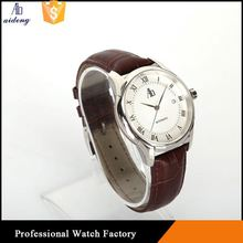 Couple Mechanical Quartz Watch Multi-Function Stainless Steel Watches Men Back