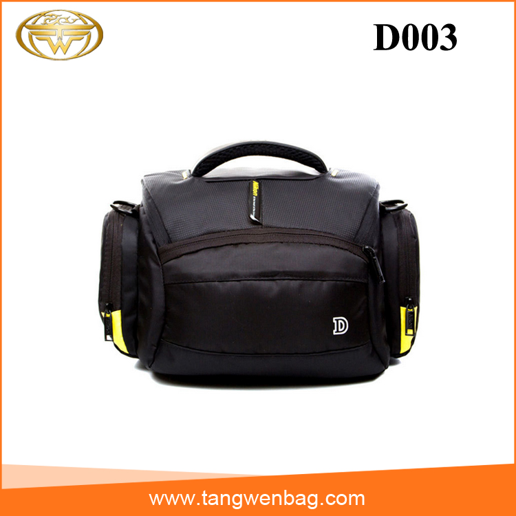 China factory custom photos wear waterproof nylon stylish dslr camera bag