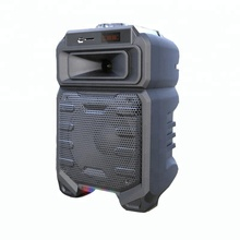 New Arrivals Cheapest Portable Good Quality 8'' Party Speaker for USB/BT/SD Function