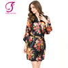 FUNG 3002 New Floral Women Silk Robe