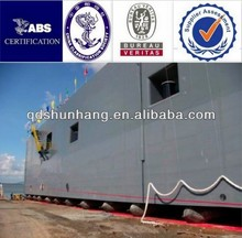 Strong reinforcent for ship launching system inflatable underwater lift bag