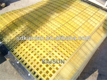 casting pu screen plate / sieve plate factory