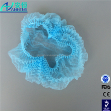 Medical/surgical use disposable head non woven caps