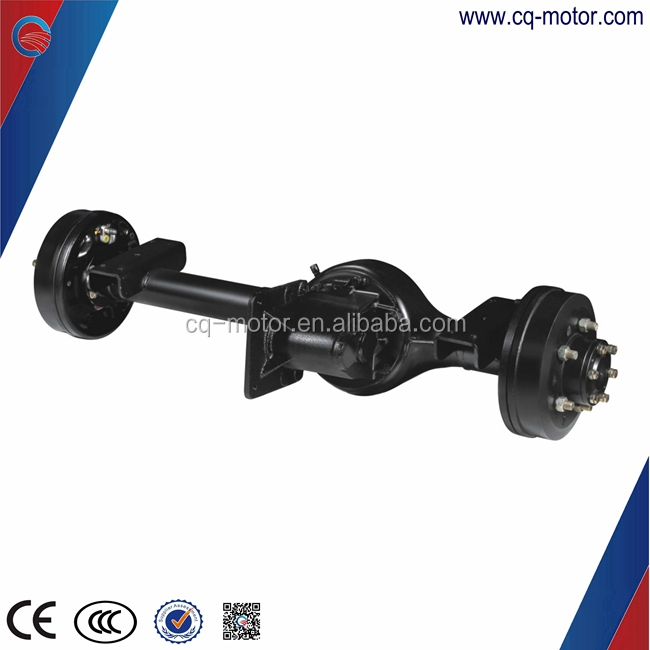 EV differential rear axle-electric car weight total 900 kgs with 2 passenger speed 55km/h