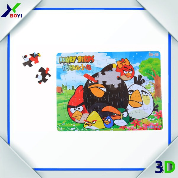 china manufacture wholesale educational customized paper cardboard 100 small piece jigsaw puzzles