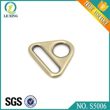 Wholesale zinc alloy handbag bag metal d ring buckle metal d rings