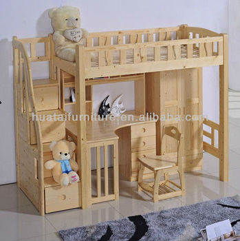 Unique Design Children Solid Wood Bedroom Sets Furniture View Kids Room Furniture Kids Desk And