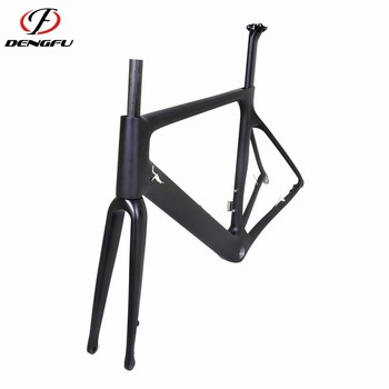 Flat mount disc carbon road bicycle frameset R04 700C disc road frame carbon