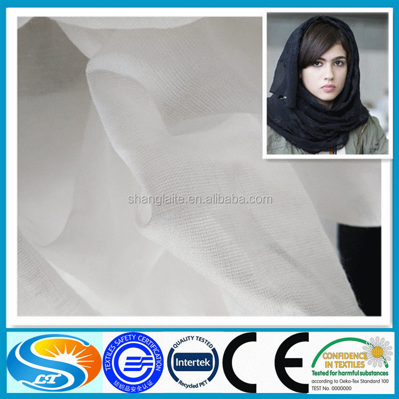 white voile fabric