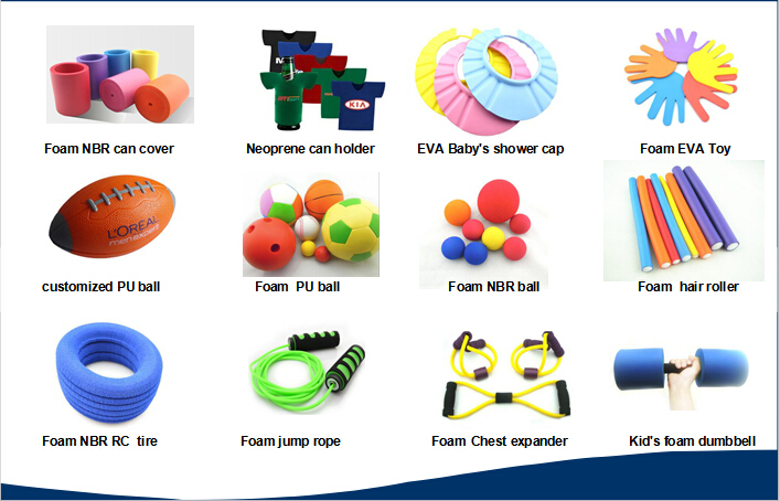 Factory sales professional eva foam manufacturer flexible closed cell foam tube
