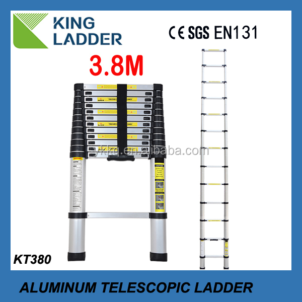 Aluminum telescopic ladder parts with EN131