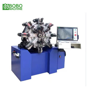 Second hand used manual automatic CNC zigzag torsion washer spring coiling making forming compression winding machine