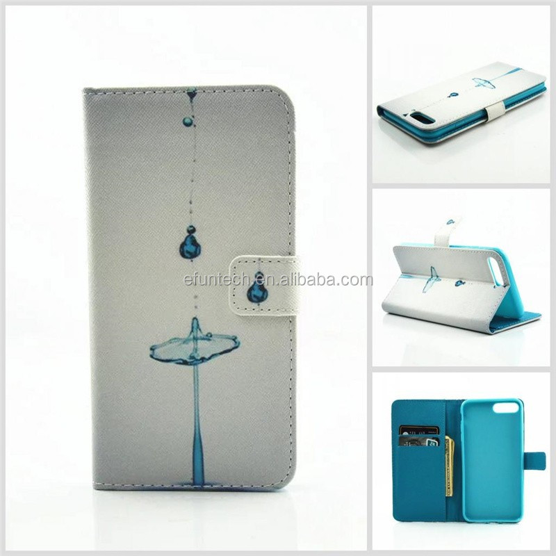Factory OEM mobile accessory fashion image PU leather wallet flip phone case for samsung note5 A5 A3 J3 J5 J6