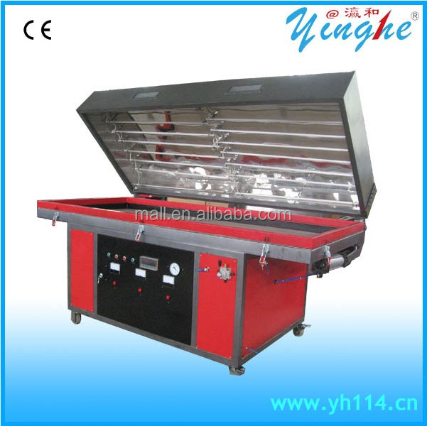 Automatic Door Vacuum Membrane Press Machine For Furniture Manufacturing Machine Pvc Mdf Door Vacuum Membrane Press Machine