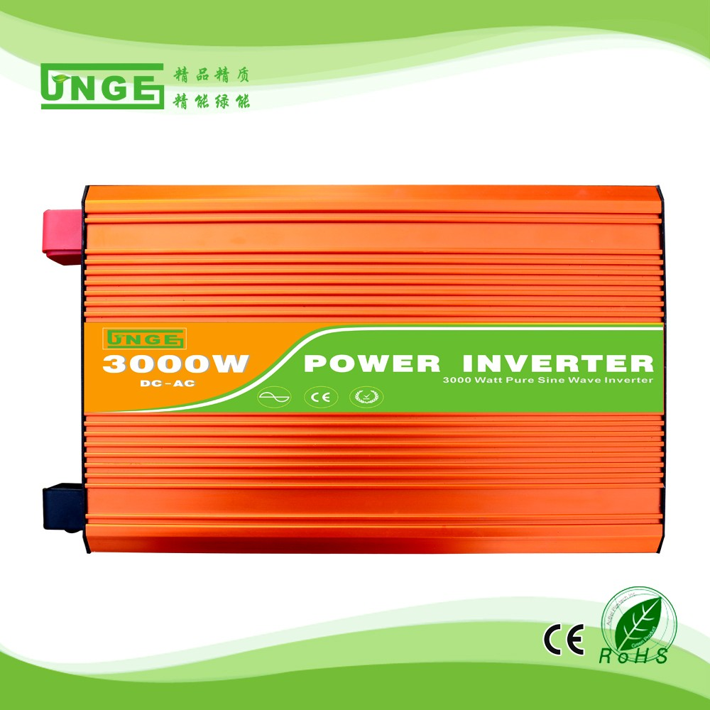 3000w High Frequency Off-Grid 24vdc&(100/110/220/230/240vac&) solar electric hybrid pure sine wave inverter