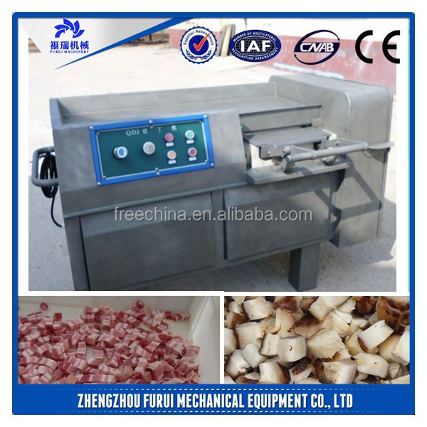 2015 Hot sale best meat processing equipment and tools/low price meat dice cutting machine