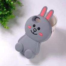 Luxury Rabbit Rubber Phone Case Hare Silicone Cover For iPhone 7 7 Plus