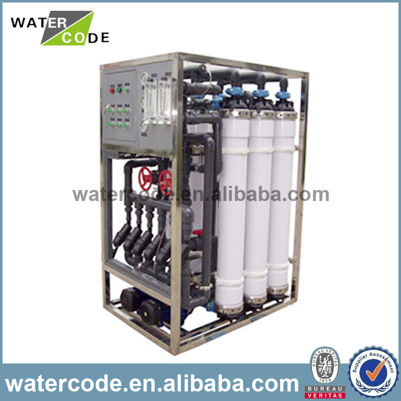 uf ultrafiltration membrane micro filtration membrane salt water treatment plant for breeding wastewater