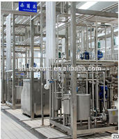 Semi automatic milk/yogurt/juice pasteurization machine