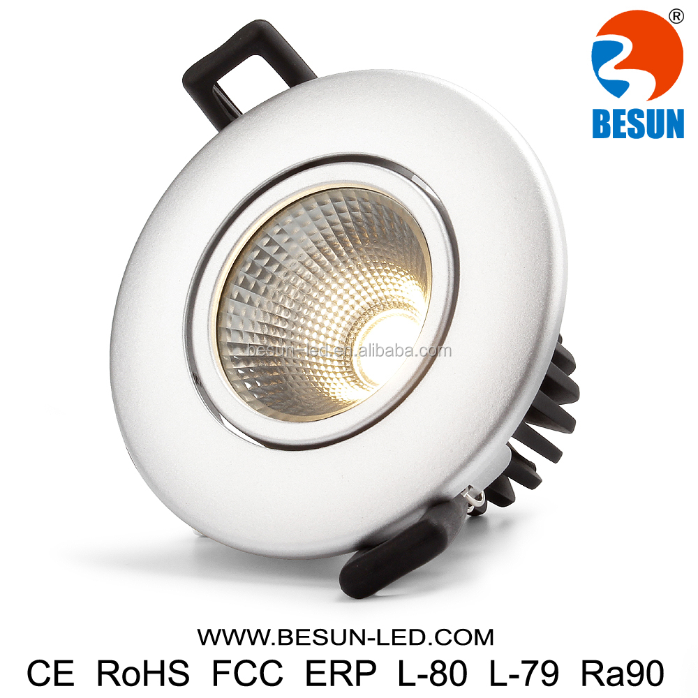Unique design 7w dimmable 90ra ceiling light led