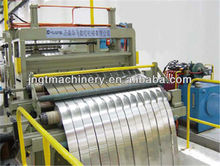 High efficiency coil cut to length line