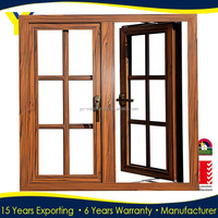 Aluminum Hinged/Double Casement Design Window Grills