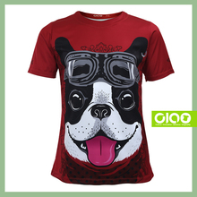 Ciao sportswear Good quality sublimation printing sound activated led t shirt wholesale for kid
