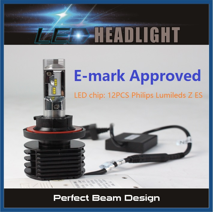 Lumileds LED 50W / 5S Auto LED Headlight H4 9004 Conversion Kit