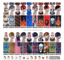 Fire scarf Riding Bicycle Motorcycle Bandanas Variety Turban Magic Headband Veil Scarves Multi Function Ski Sport bandana