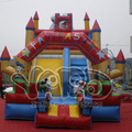 Inflatable Bouncy Castle With Water Slide With Favaroble Prices