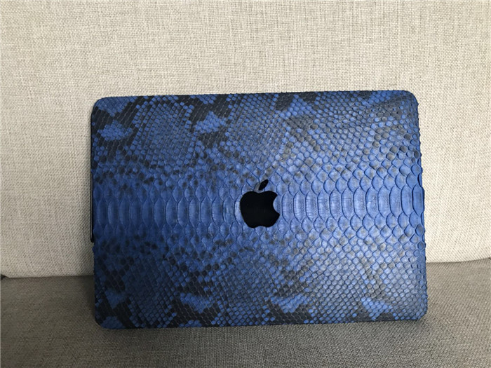 Custom python leather protective case for Macbook Air 13 laptop_12