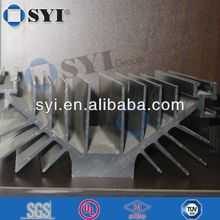 high density aluminum extrusion heat sink profiles of SYI group