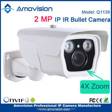 Amovision cctv Security Outdoor 1080P Surveillance Video Q1139 Mini Ip Camera Onvif IR Bullet H.264 Sony Cmos
