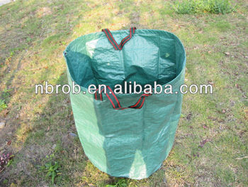 PP garden lawn bag with pp string-79L