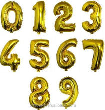 40 inch foil number balloons party decoration