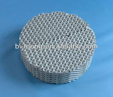 Plastic Corrugated-plate Packing,plastic structured packing for absorption, desorption, water washing