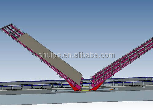 Steel Plate Turning Over Machine for making tank/steel plate turning rotator/tank production line