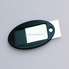 wholesale high quality plastic key sign key tag,porsche key cover