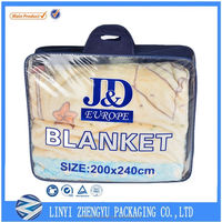 PP nonwoven bag with handle for quilt packaging