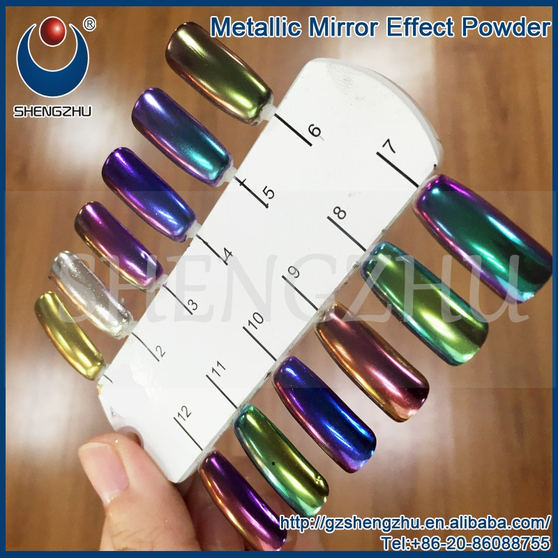 Chrome Pigment silver mirror effect powder
