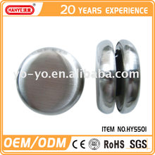 HY5501 Top quality funny metal toys yoyo with logo printing for kids