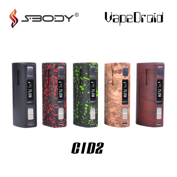 2017 newest sbody C3D1 box mod dna250 mod ecigarette box mod vapedroid