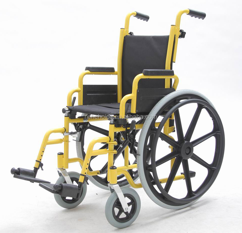 Children, Steel Manual, Wheelchair, (YJ-013B)