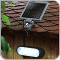 Waterproof solar powered shed camping lamp light for outdoor indoor 12 LED LOW High Brightness(JL-4503)