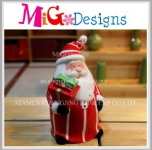 Direct Factory Produce Ceramic Santa Claus Cookie Jar