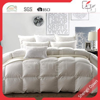 Winter down feather quilt, box stitch down duvet,