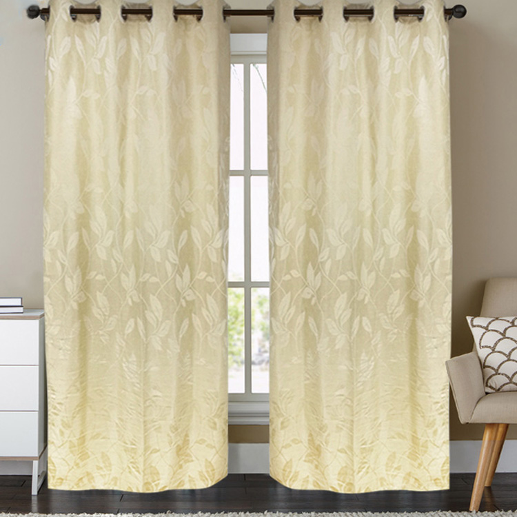 Latest Design Promotional Luxury Jacquard Hotel Curtain